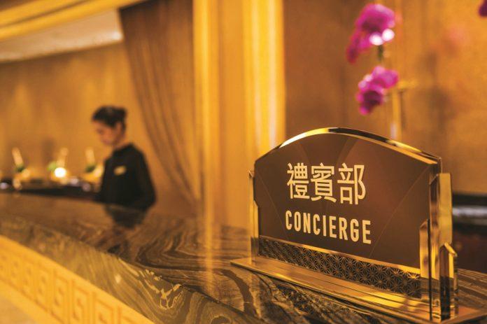 hotel concierge reception desk
